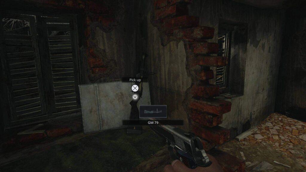 resident evil village gm 79 grenade launcher