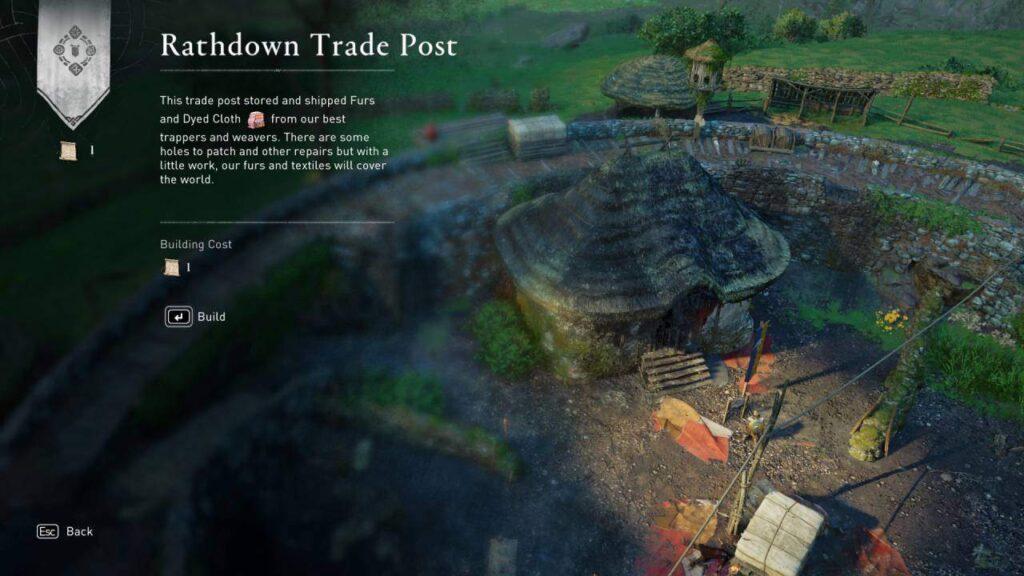assassin's creed valhalla - rathdown build up membangun rathdown
