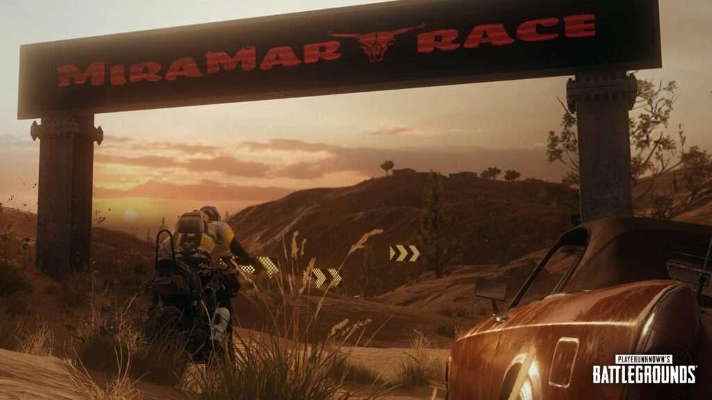 miramar racing mode