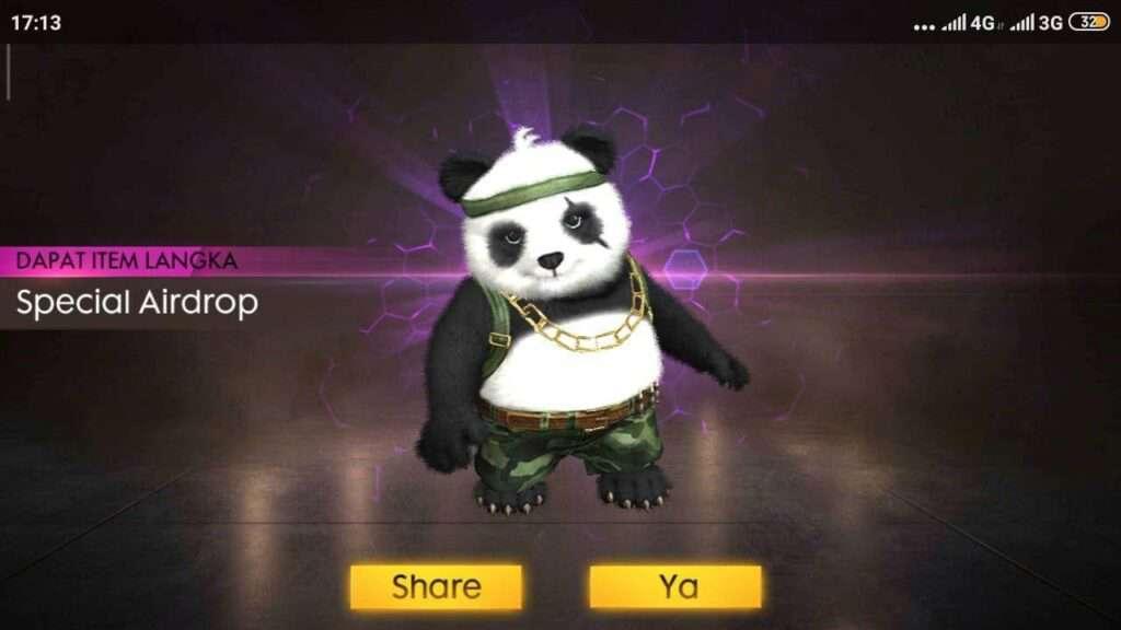 panda pet ff