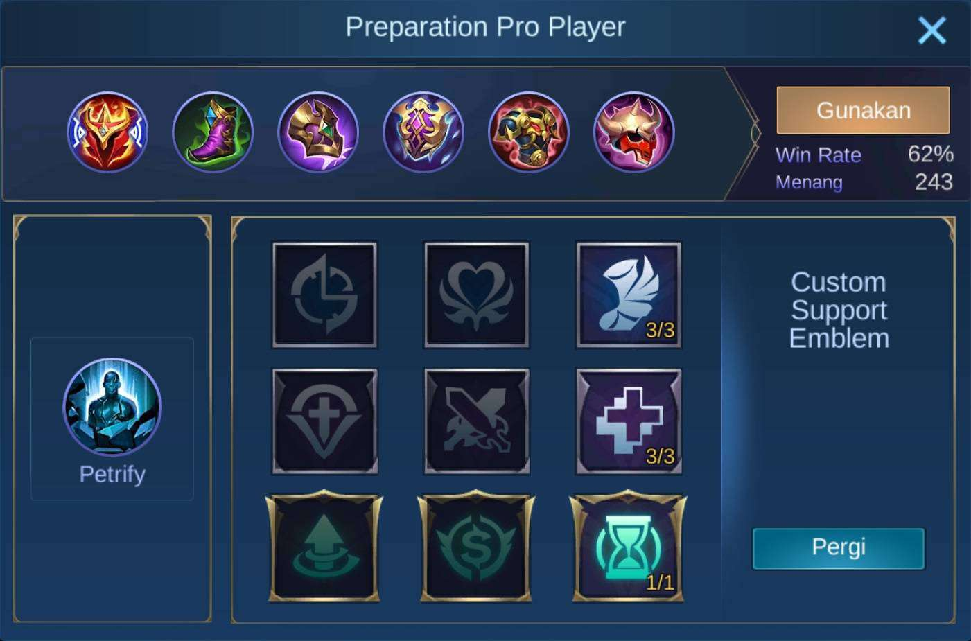 build item akai mobile legends (ML) the strongest and sickest