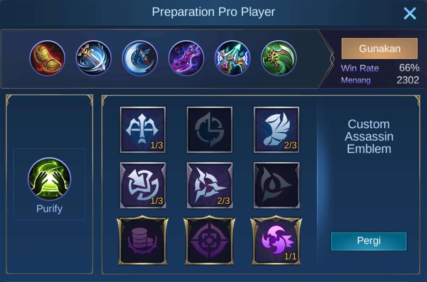build item irithel mobile legends (ML)