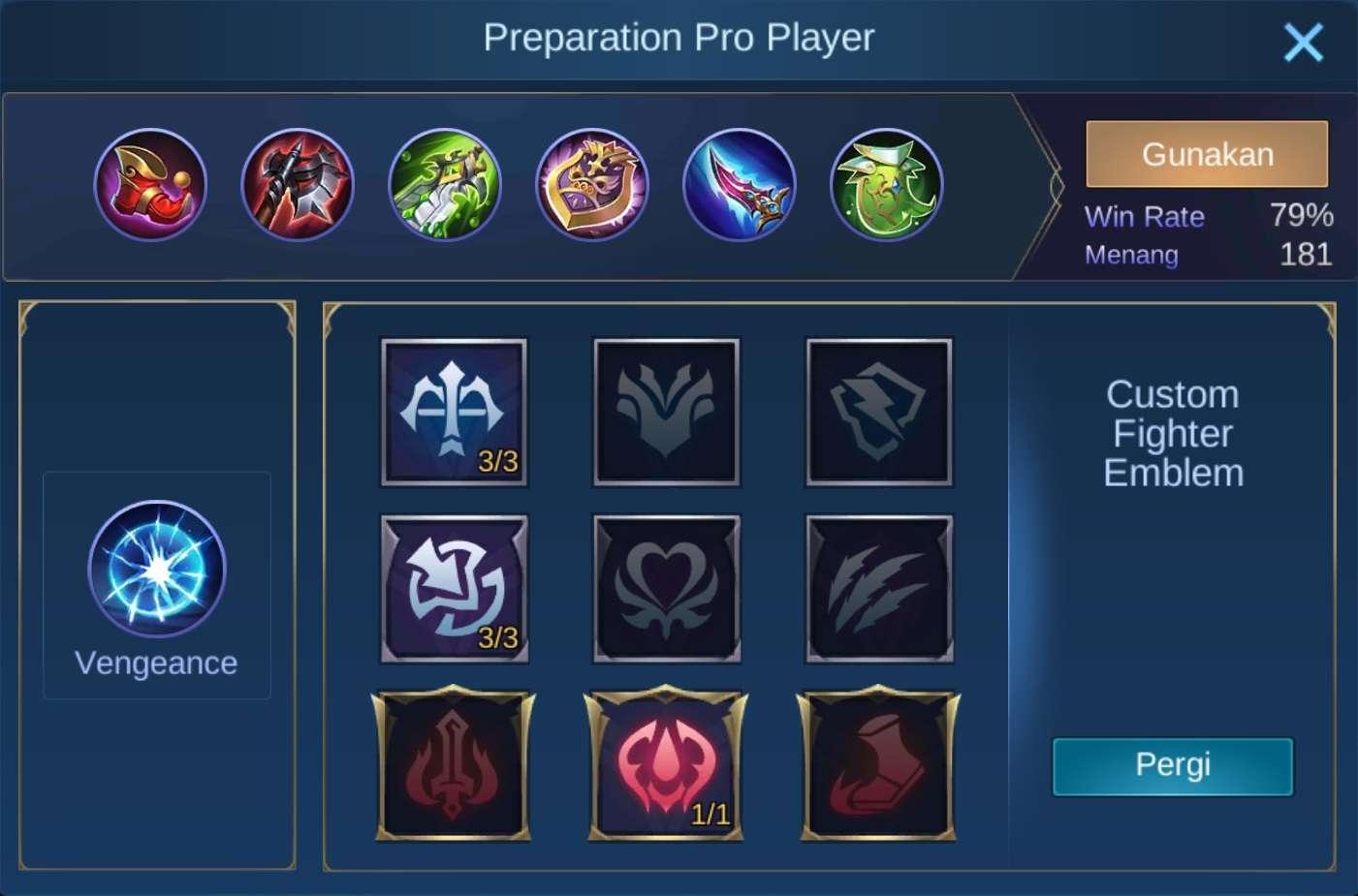build item lapu-lapu mobile legends (ML)