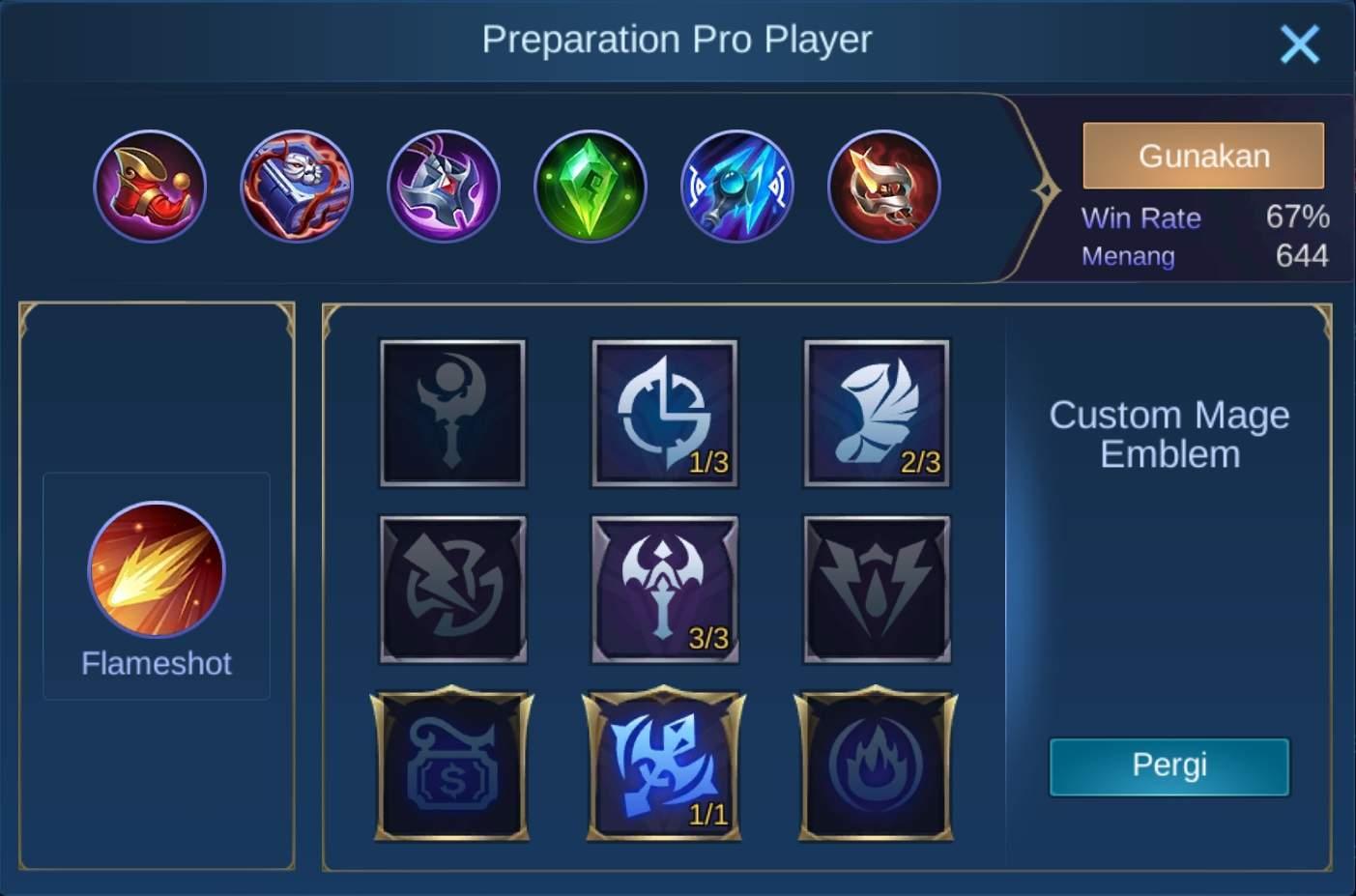 build item lylia mobile legends (ML) tersakit