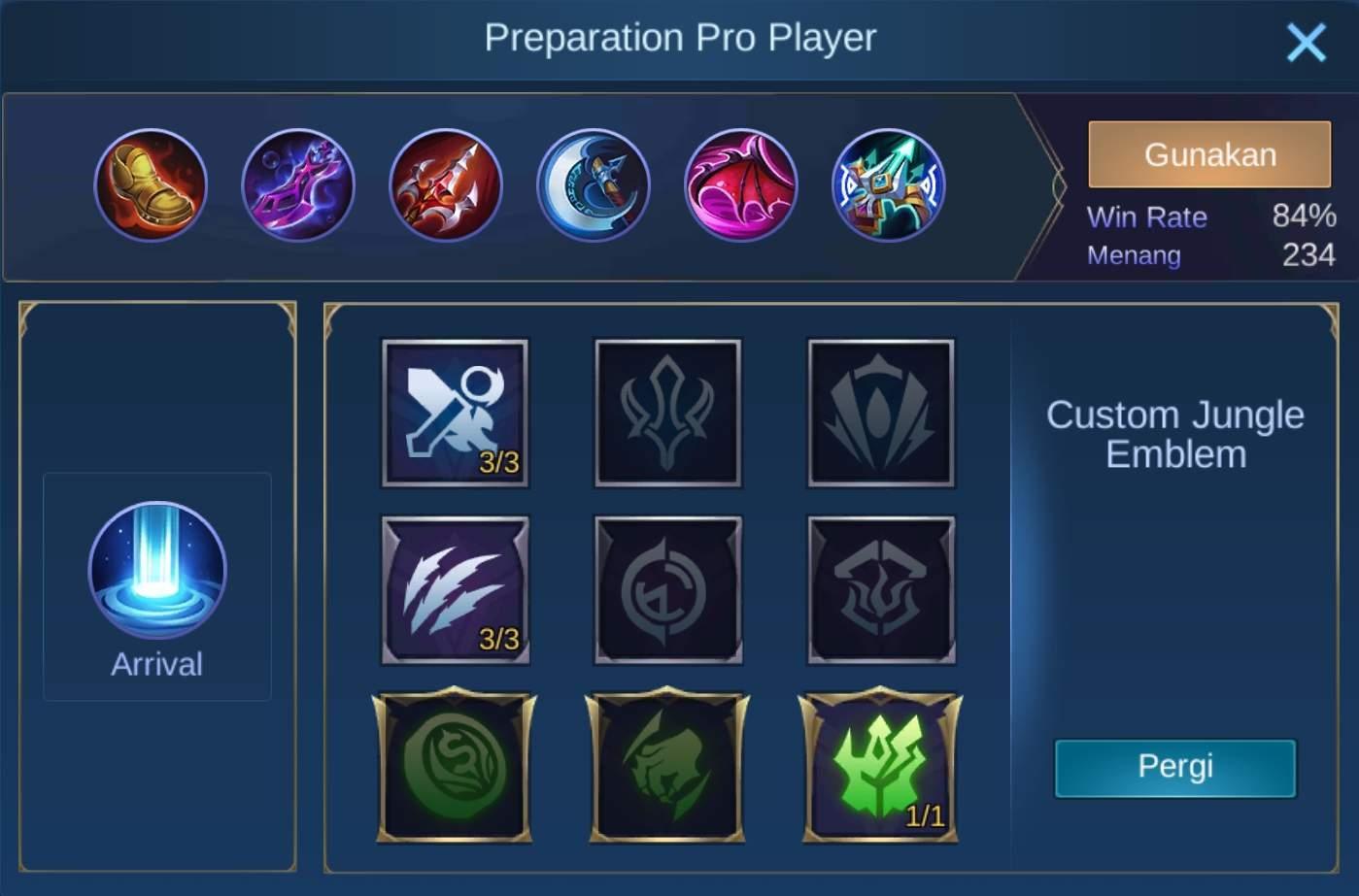 build item moskov mobile legends (ML)
