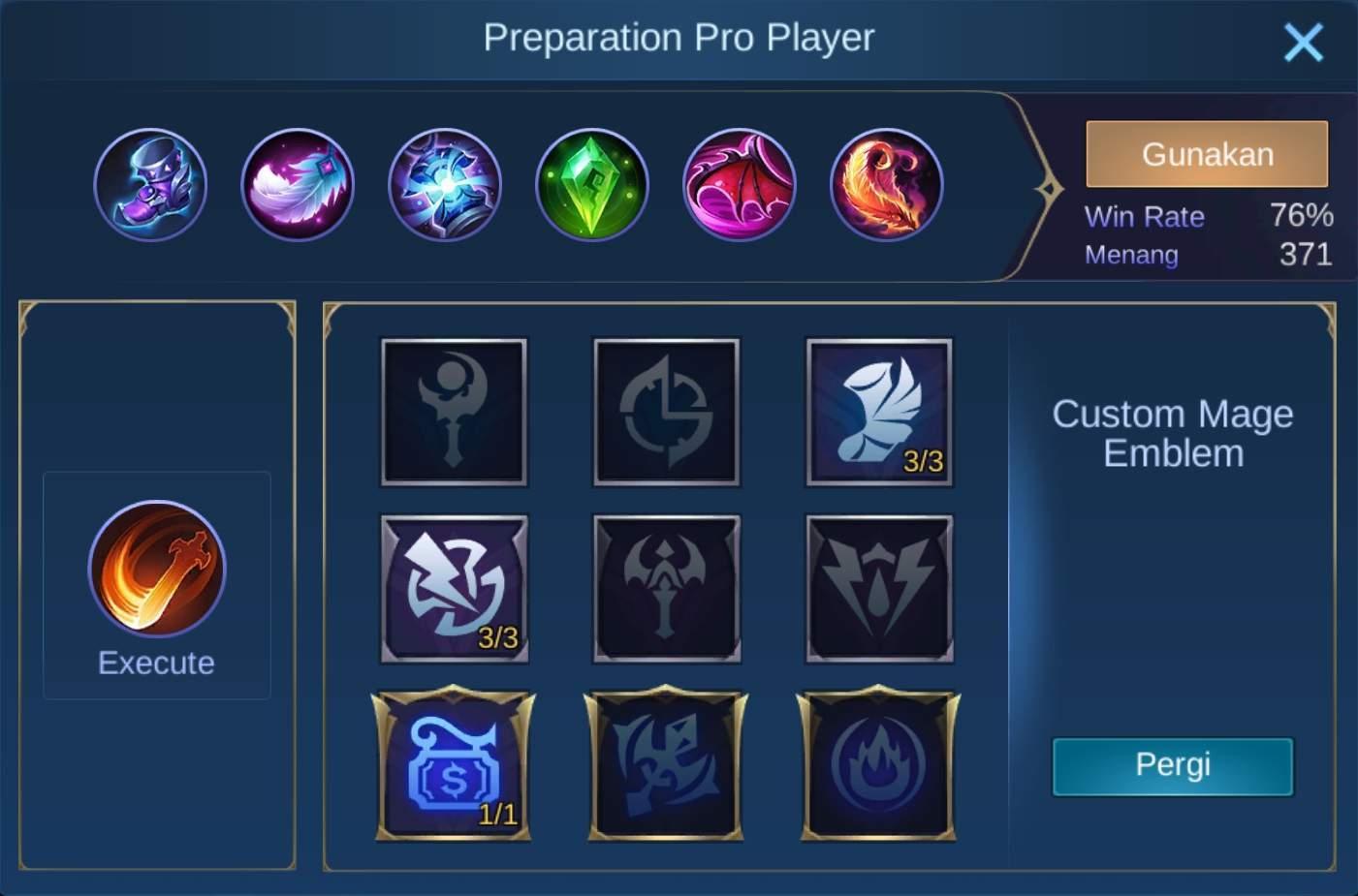 build items silvanna mobile legends (ML)