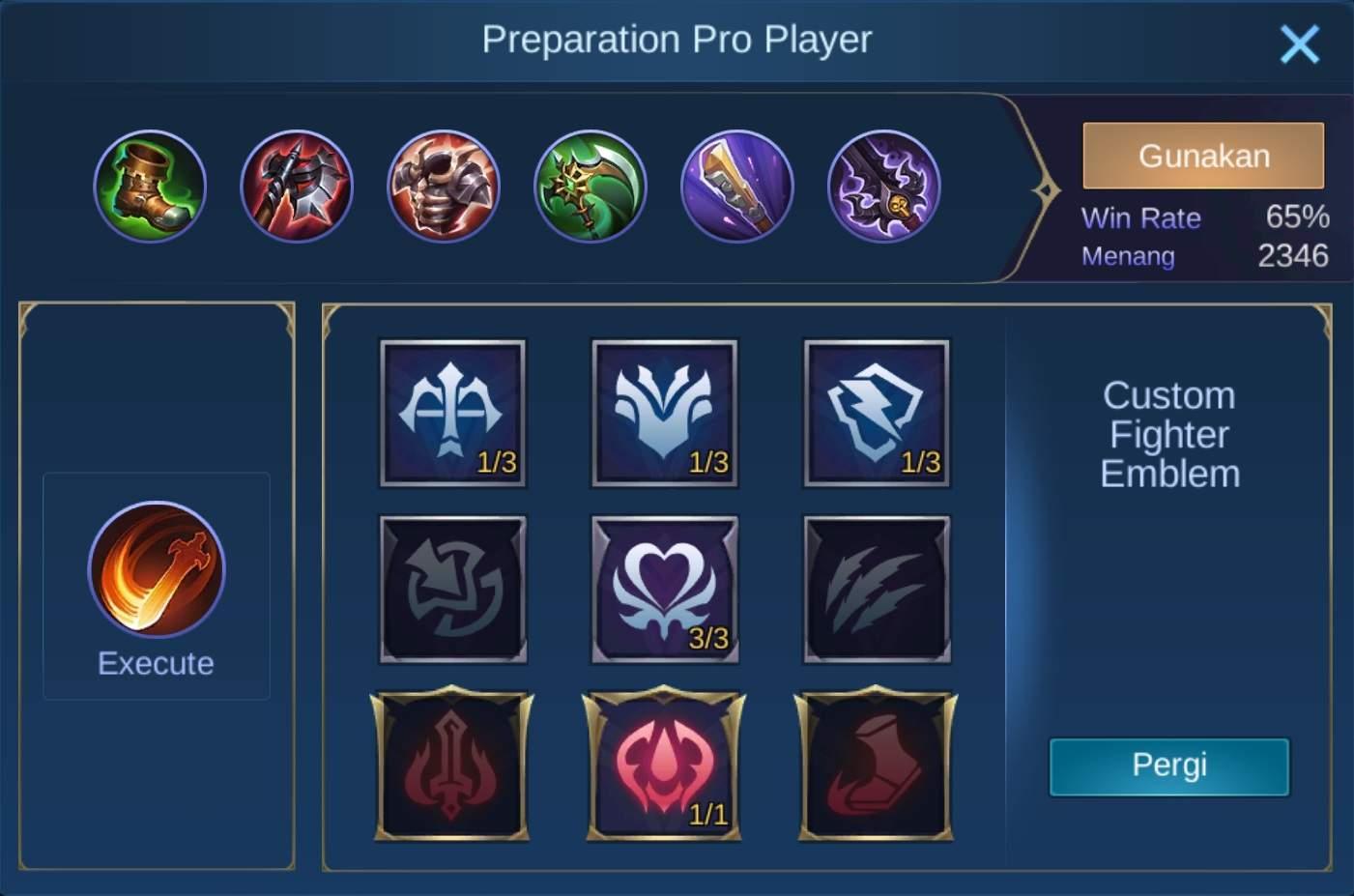 build item thamuz mobile legends (ML)