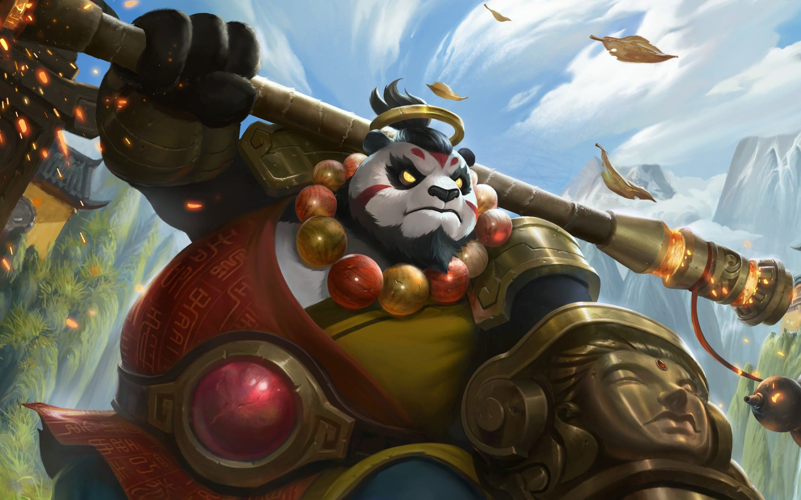 Akai Monk Wallpaper Mobile Legends HD for PC - Hobigame.id
