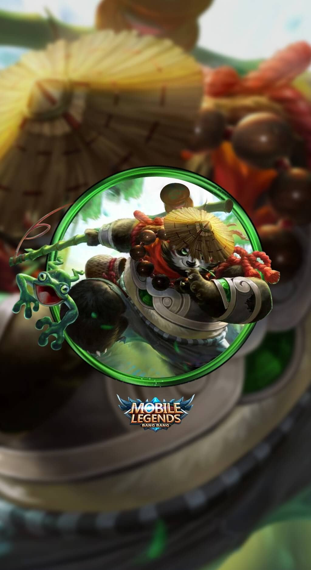 Akai Panda Warrior Wallpaper Mobile Legends HD for Mobile - Hobigame.id