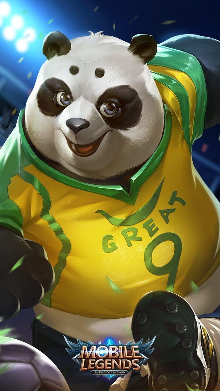 Akai Soccer Titan Wallpaper Mobile Legends HD for Mobile - Hobigame.id