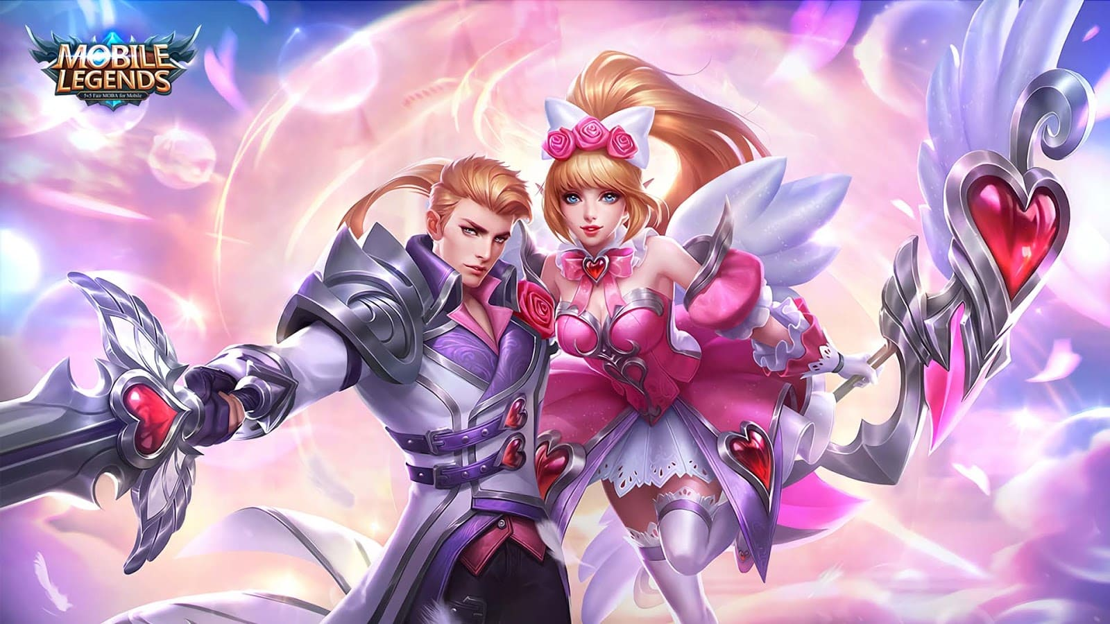 Wallpaper Alucard and Miya Romantic Fantasy Skin Mobile Legends HD for PC - Hobigame.net