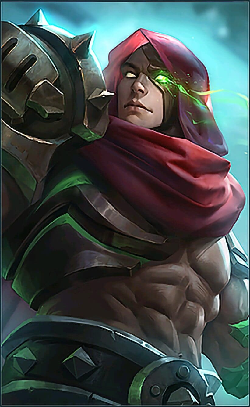Wallpaper Aldous Red Mantle Skin Mobile Legends HD for Mobile - Hobigame.id