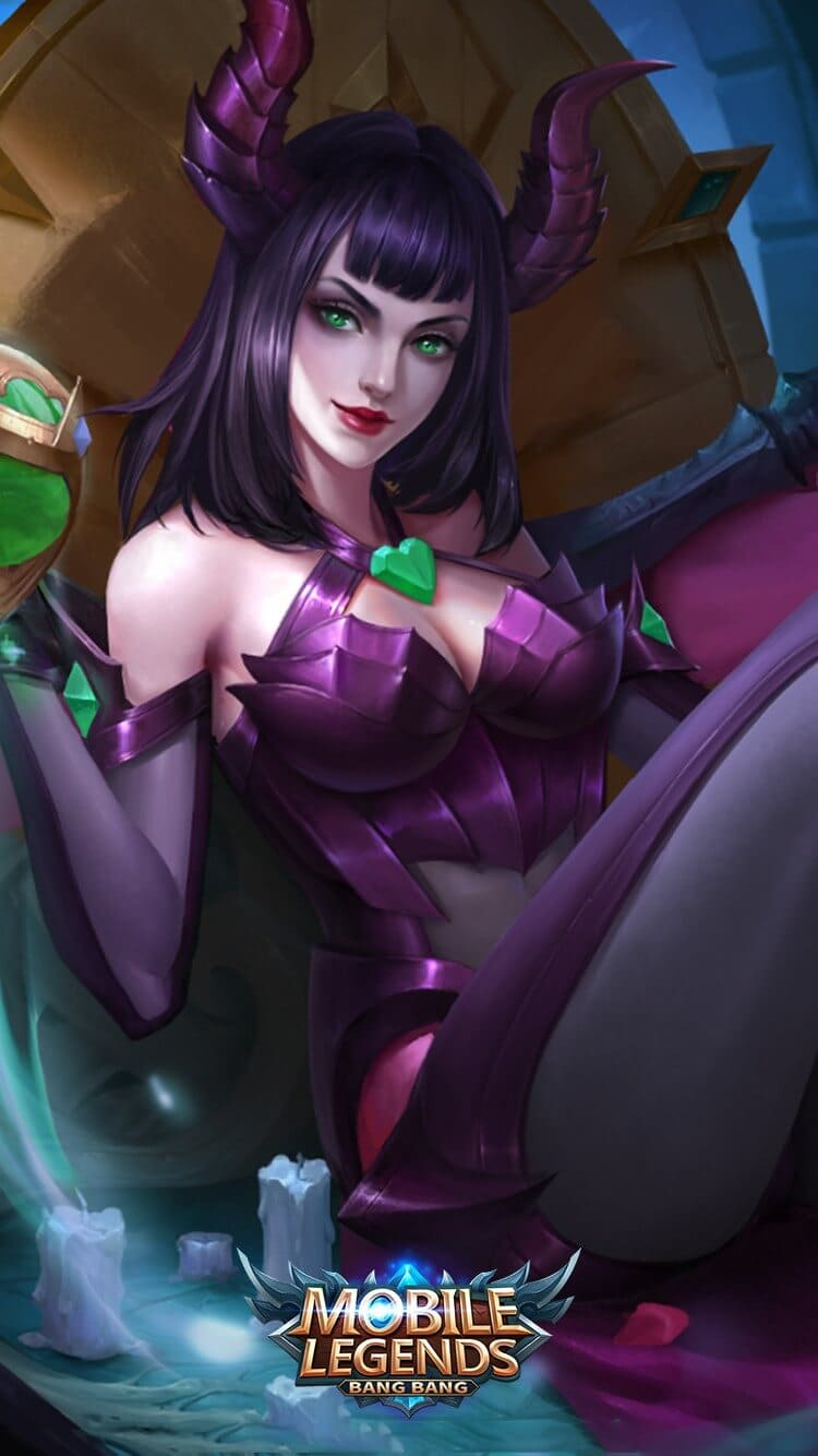 Wallpaper Alice Spirit Woman Mobile Legends HD for Mobile - Hobigame.id