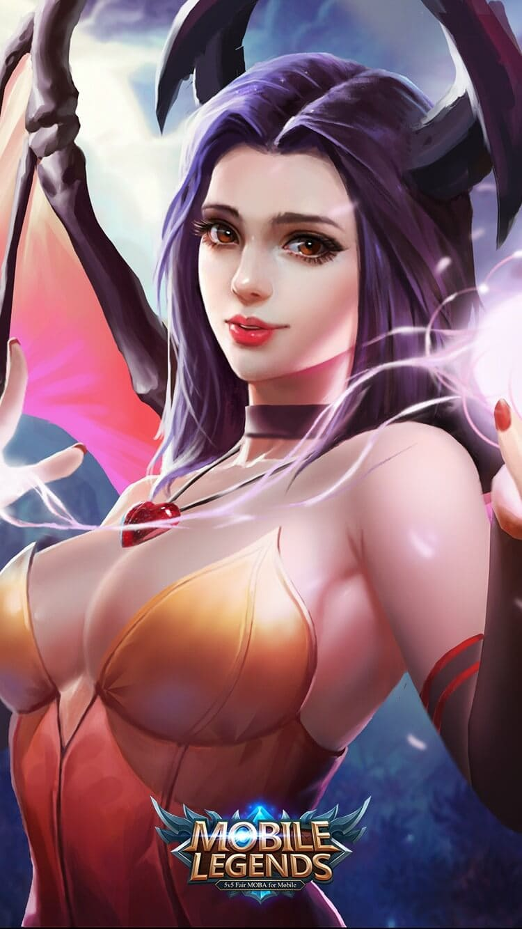 Wallpaper Alice Spirit Woman Old Mobile Legends HD for Mobile - Hobigame.id
